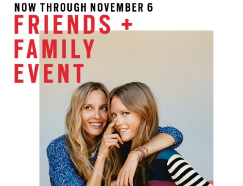Gap Friends & Family 50% Off Promo Code + Free Shipping