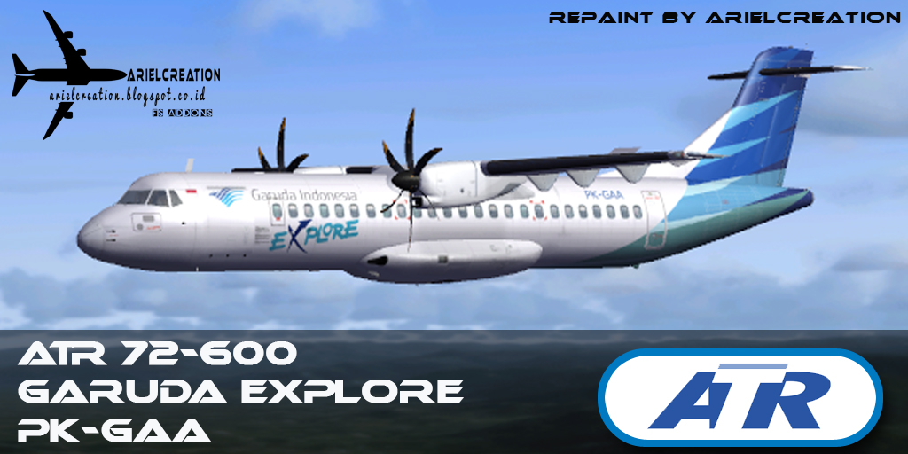 Flight One ATR 72-500 Garuda Explore (72-600) Livery