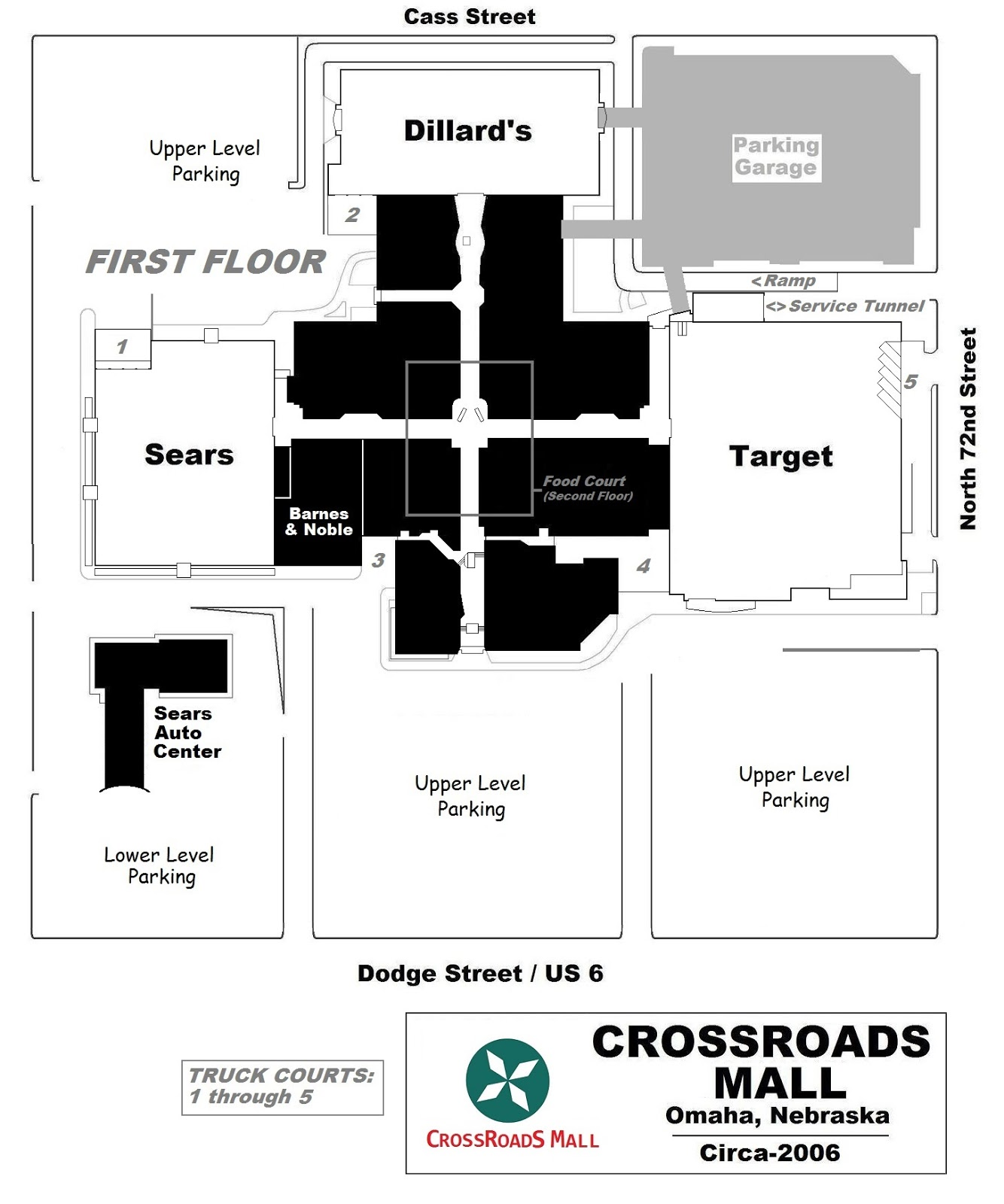 Crossroads Mall Omaha Ne: MALL HALL OF FAME: November 2007
