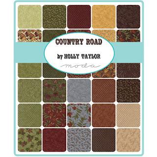 Moda Country Road Fabric by Holly Taylor for Moda Fabrics