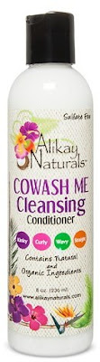 Click to buy Alikay Naturals CoWash Me Cleansing Conditioner, one of the best cowash cleansers for natural hair!
