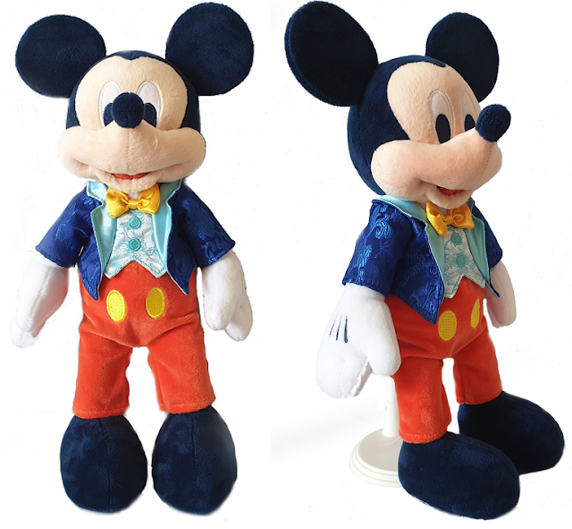 Disneyland Park 65th Anniversary Mickey Mouse Plush