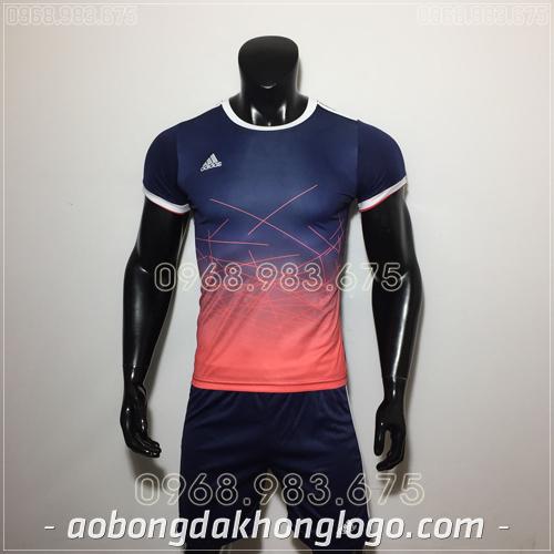 Áo Bóng Đá Ko Logo Adidas QT Đen