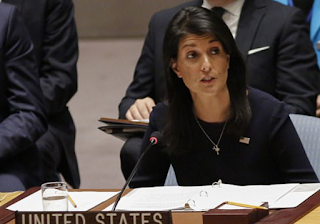 'Enough is enough!' UN ambassador Nikki Haley warns Security Council that Kim Jong-Un is 'begging for war' with 'abusive use of missiles'