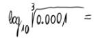 Logaritmo decimal 1