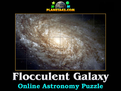 Flocculent Spiral Galaxy Puzzle
