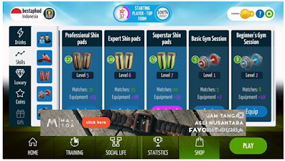 Download Soccer Star 2017 Top Leagues V0.6.5 Mod Apk (Unlimited All) Terbaru