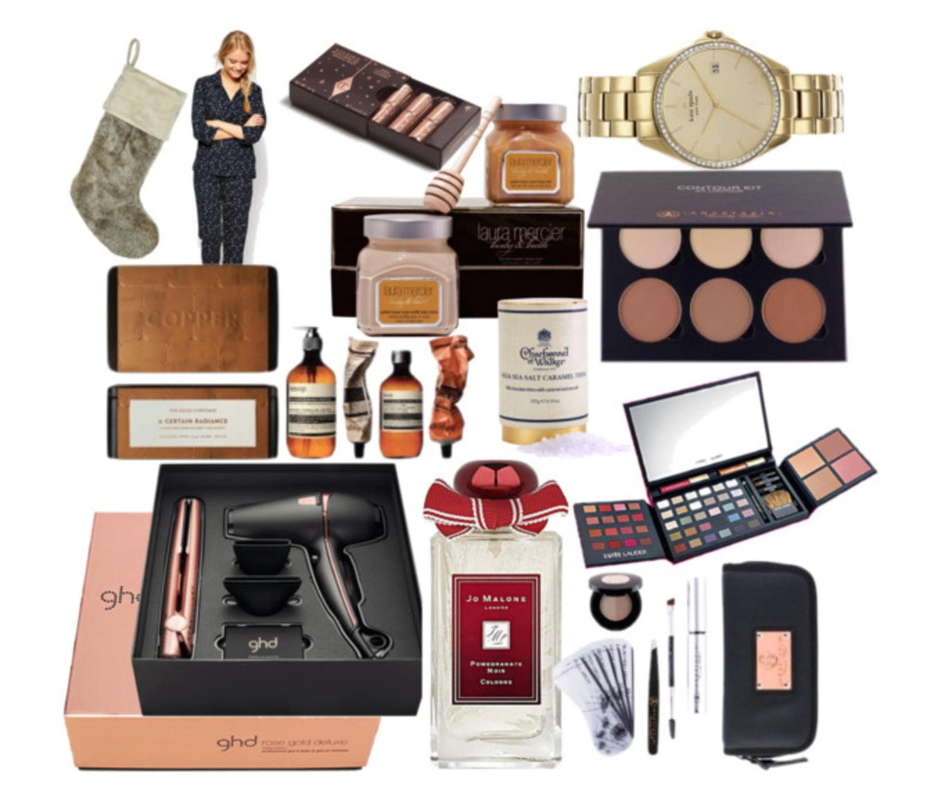 Gifts For Her For Christmas: Christmas Gift Guide: Luxury Gifts & Stocking Fillers For