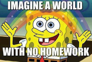 A world with No Homework