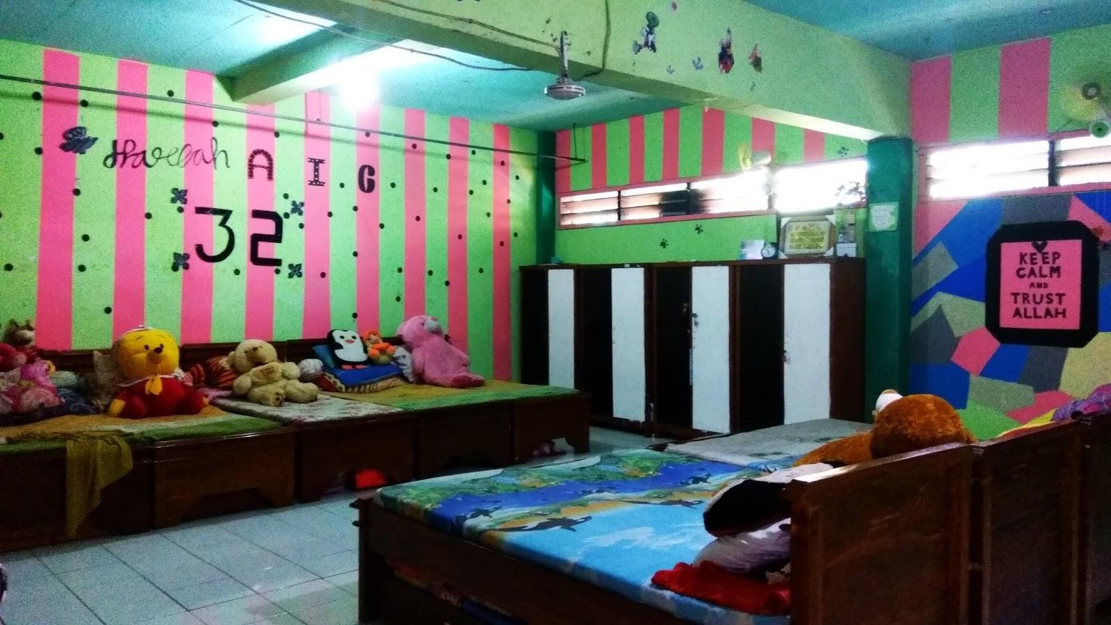 Berkaca Dari Lomba Menghias R Yg Hasilnya Menawan Gus Ayus Selaku Khodimul Ma Had Pun Memancing Kreativitas Santri Dalam Kelas