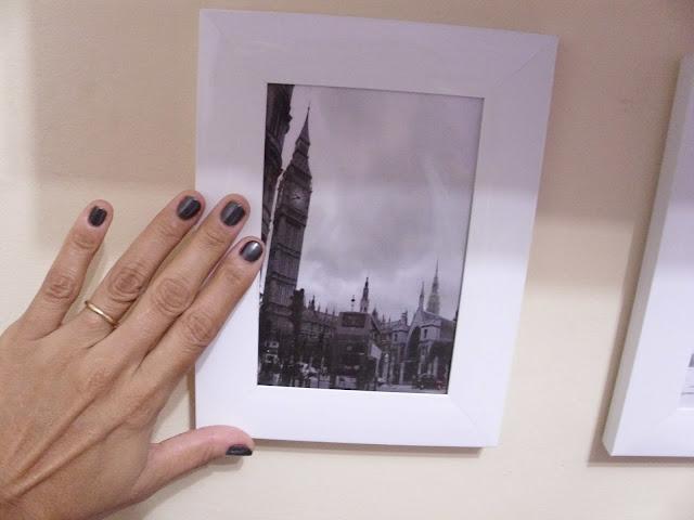 Esmalte metálico e quadro do Big Ben