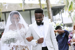 PHOTOS: Sarkodie Weds Longtime Girlfriend In Private Ceremony