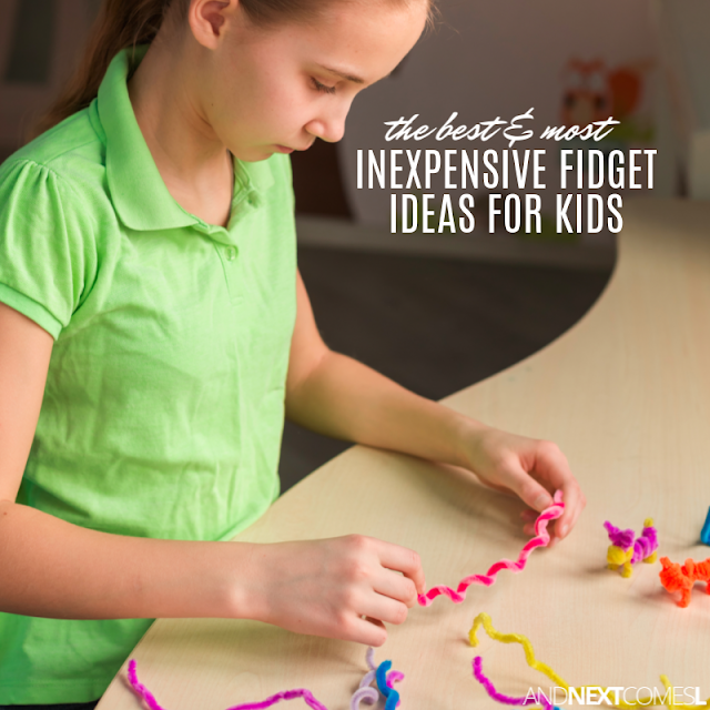 Alternatives to fidgeting toys