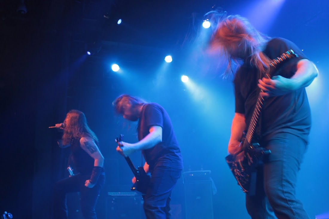 An Evening with Amon Amarth in Times Square