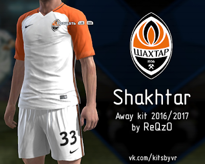 PES 2013 Shakhtar 16/17 away kit by ReQzO