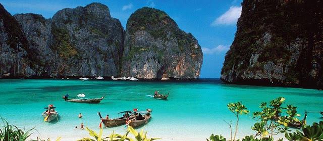 للطبيعة الخلابة تايلند