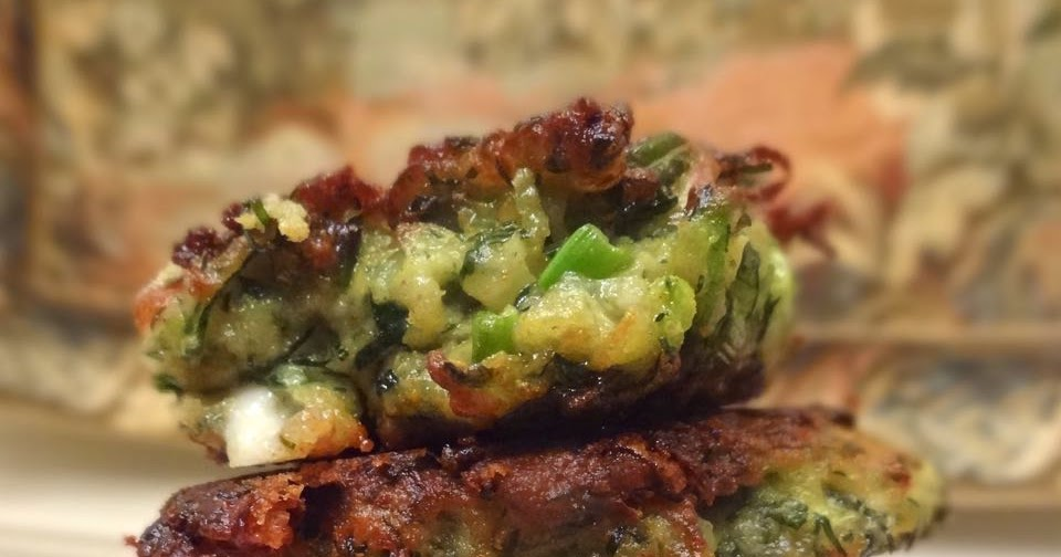 ... : Kolokithokeftedes: Greek Zucchini Fritters with Feta