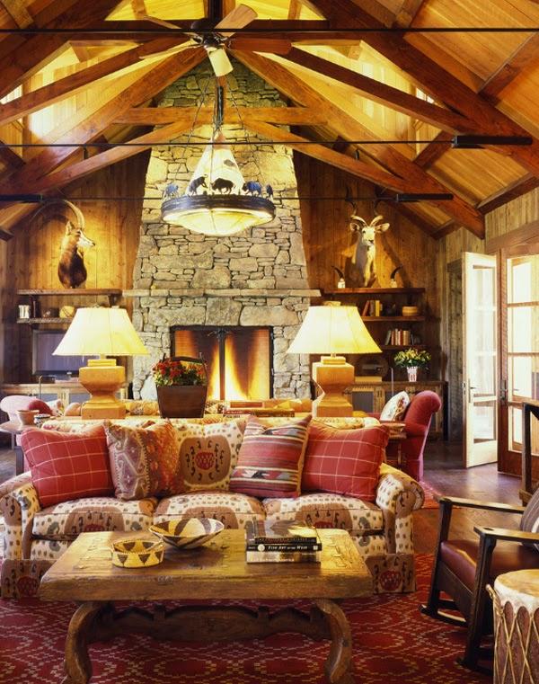 crunchylipstick 55 aweinspiring rustic living room
