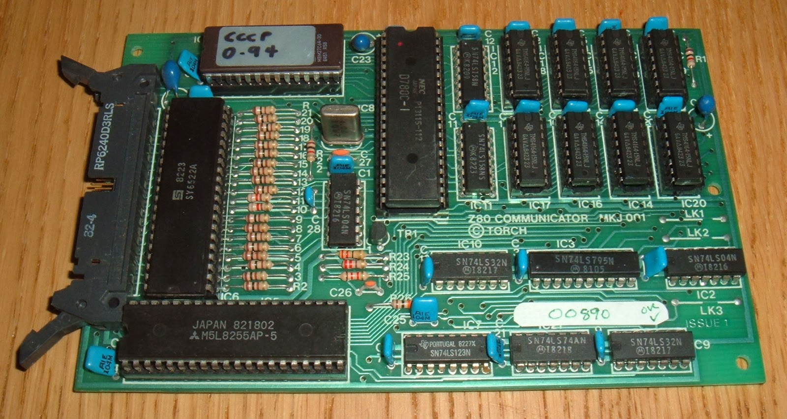 Tynemouth Software: Z80 CP/M Single Board Computer