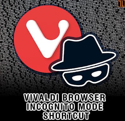 Vivaldi Browser Incognito/ Private Session
