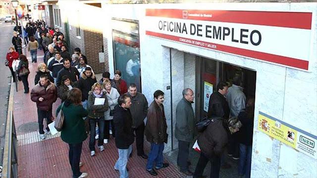Sindicatos preocupados por aumento de desempleo en España