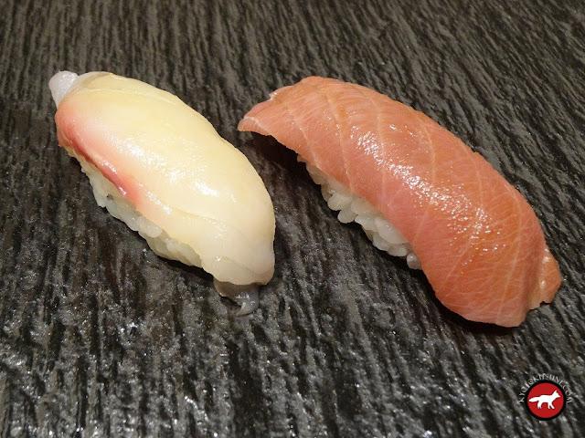 Sushis de Masazushi à Otaru