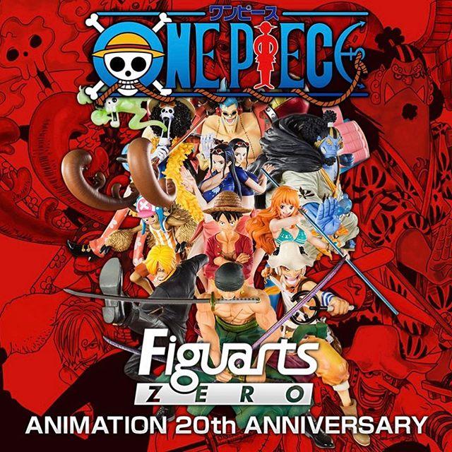 """Primera fotografía de las nuevas figuras Figuarts ZERO de """"One Piece"""" por su 20 aniversario"""