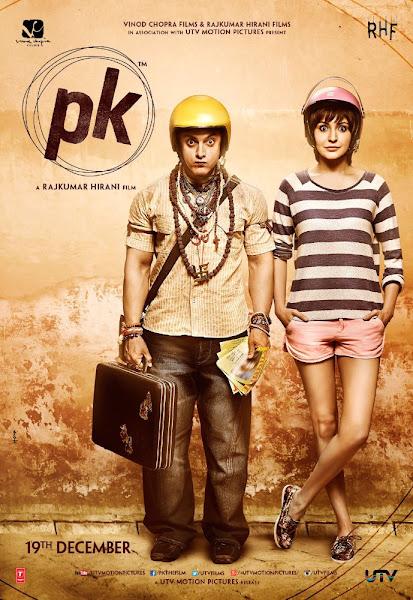 Poster of PK 2014 720p Hindi BRRip Full Movie Download