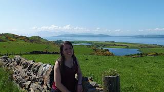 Skót táj az Isle of Cumbrae-n