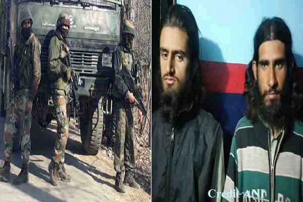 banihal-attack-2-terrorists-gajnafar-and-arif-arrested-in-kashmir