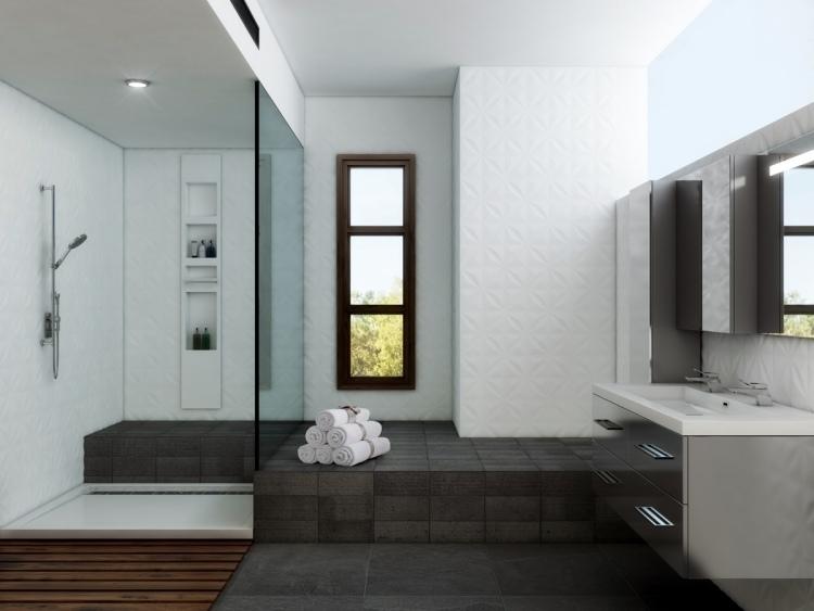 50 Modern Bathrooms: Walk-in Shower In 50 Attractive Modern Bathrooms