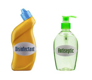 Disinfectant vs Antiseptic