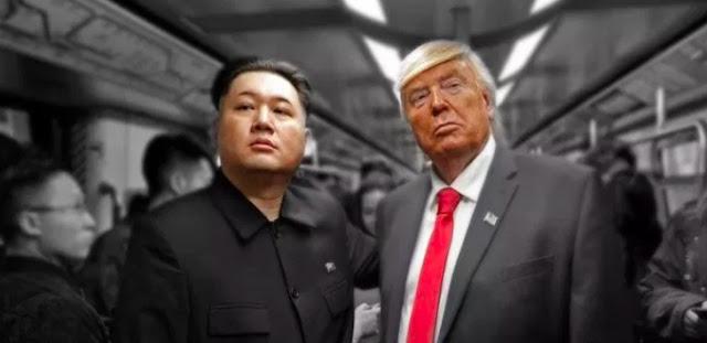Pertemuan Trump Palsu dan Kim Jong-un Tiruan Lebih Sukses