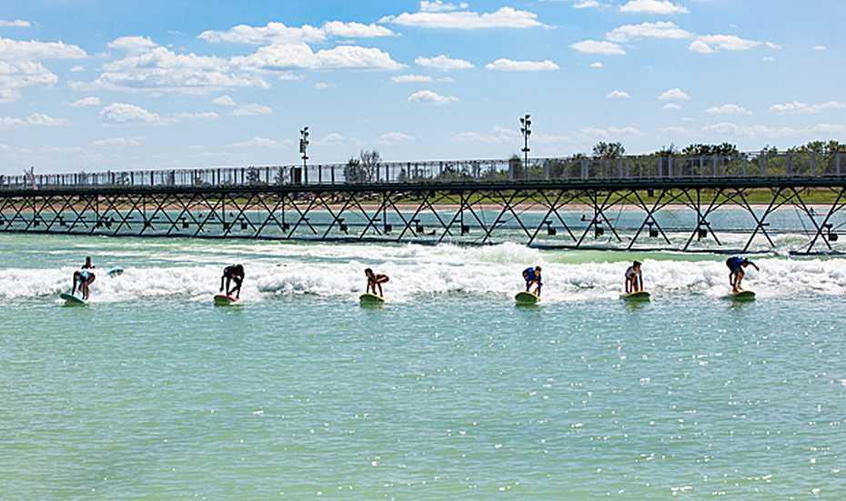 Nland Surf Park principiantes