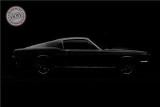 Teaser Mustang Bullitt