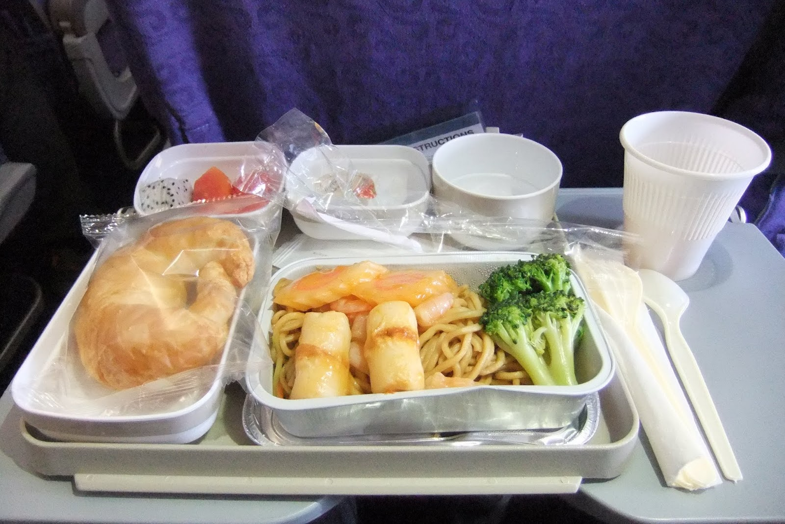 air china-flight meal 中国国際航空の機内食