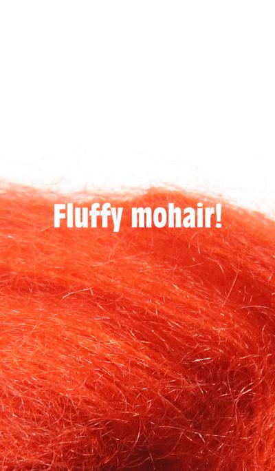 Fluffy mohair!
