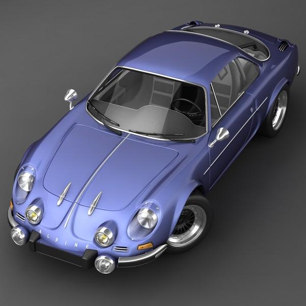 Renault Alpine: 3D.ART.Reactor: 3D Model Renault Alpine