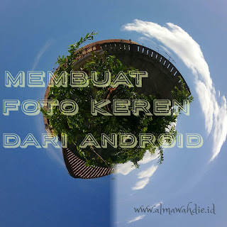 Aplikasi edit foto  planet android