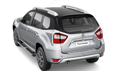 Nissan Terrano AMT rear pics