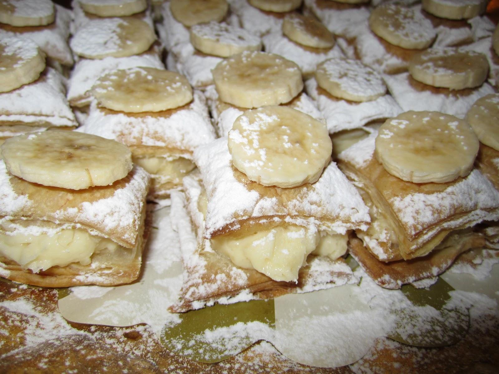 Milföylü Muzlu Pasta Tarifi