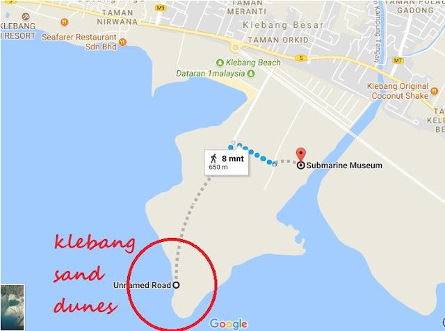 lokasi klebang sand dunes