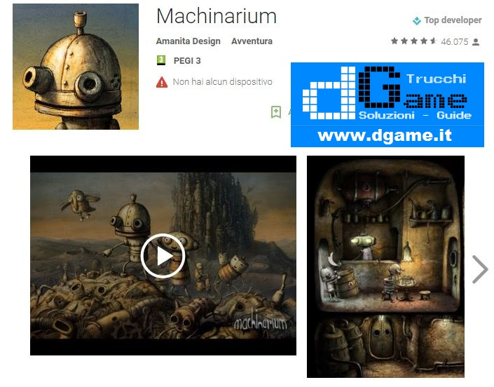 Soluzioni Machinarium di tutti i livelli | Walkthrough guide