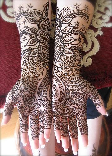 Body Art Mehndi Design