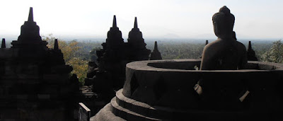 Berlibur ke candi Borobudur Magelang