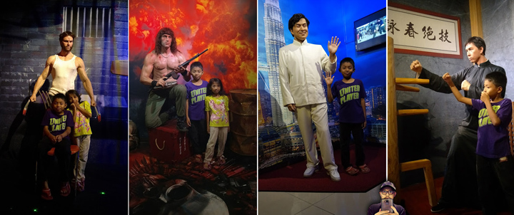 Bergambar di Fun-Filled Wax Museum Penang