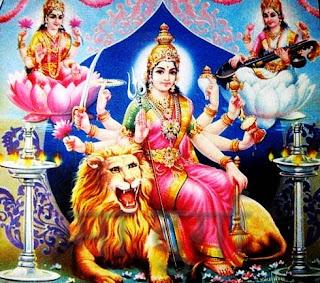 9 ratra, दुर्गा पूजा