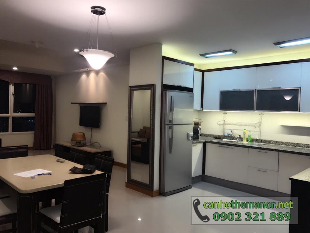 thuê - mua căn hộ 113m2 Block AW - The Manor 1 tầng cao - hình 3