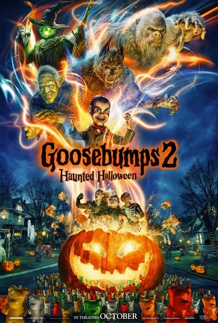 Goosebumps 2: Haunted Halloween 2018 movie poster