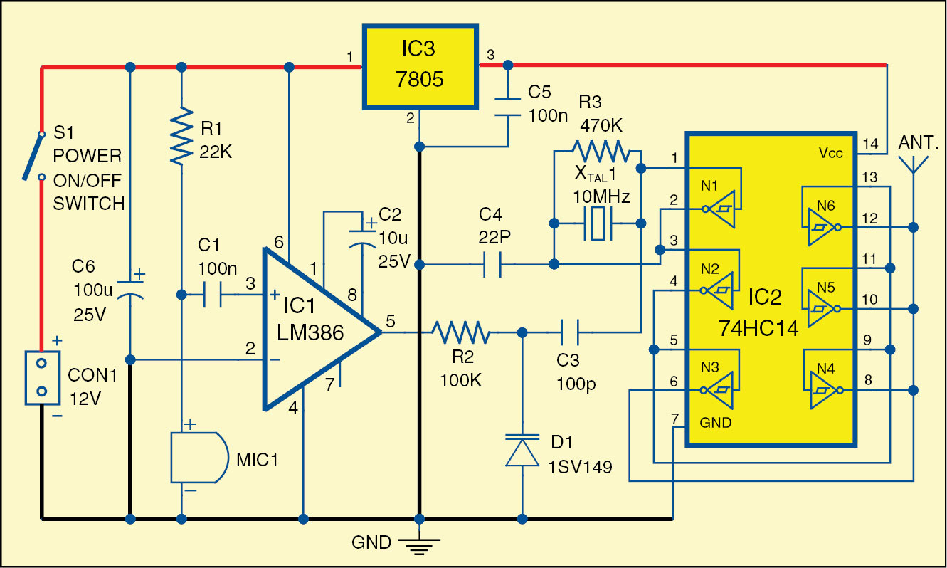 Electronic Clapper Circuit Wiring Diagram And Ebooks For Projects Awesome Project Embellishment The Symbols